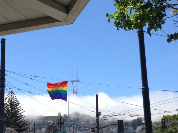 Sutro Tower, Living in San Francisco, Moving to San Francisco, The Castro, Gay Pride