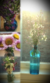 Wildflowers in the apartment