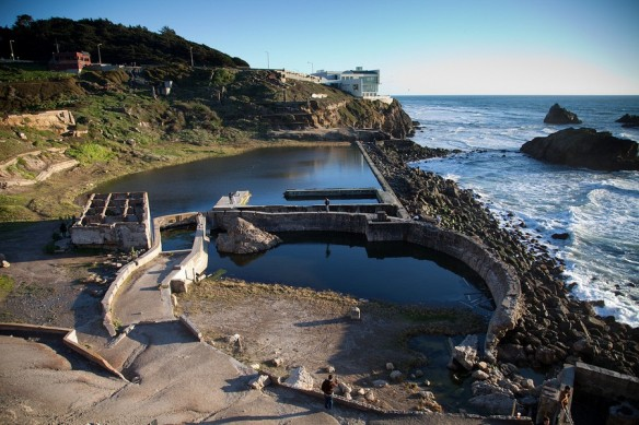 Sutro Baths, Sunny Day San Francisco, San Francisco, California