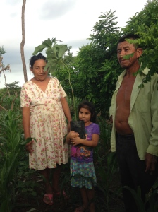 Cooperative women with daughter and husband
