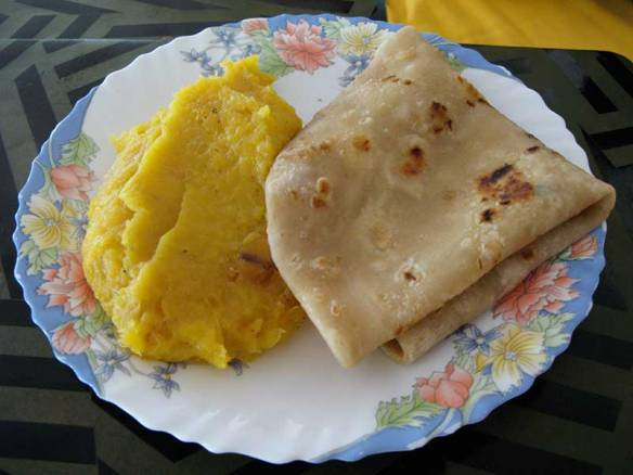Chapati-and-matooke
